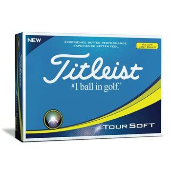 Titleist Tour Soft Yellow Golf Ball Balls