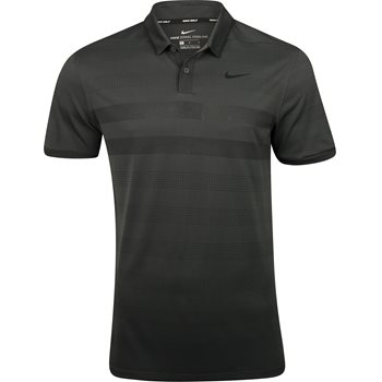 Nike Zonal Cooling Stripe Shirt Polo Short Sleeve Apparel