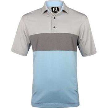 FootJoy Prescott Engineered End On End Stripe Lisle Shirt Apparel
