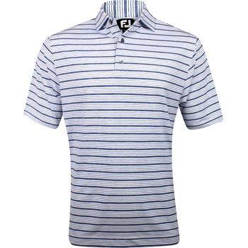 FootJoy Flagstaff Lisle Space Dye Stripe Shirt Apparel