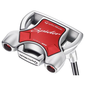 """TaylorMade Spider Tour Diamond Silver """"L"""" Neck Putter Preowned Clubs"""