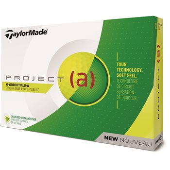 TaylorMade Project (a) 2018 Yellow Golf Ball Balls
