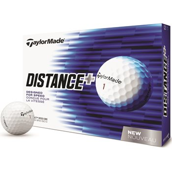 TaylorMade Distance + Golf Ball Balls