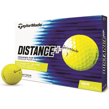 TaylorMade Distance + Yellow Golf Ball Balls