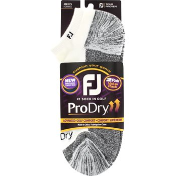 FootJoy ProDry Low Cut Two Pack Socks Apparel