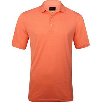 Greg Norman Forward Series Heathered Shirt Polo Short Sleeve Apparel