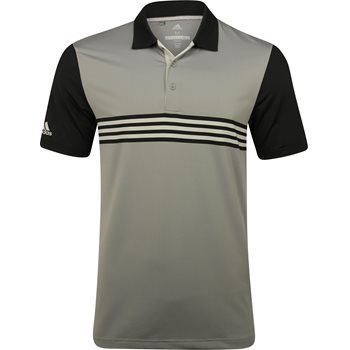 Adidas Ultimate 365 Engineered 3 Stripe Shirt Polo Short Sleeve Apparel