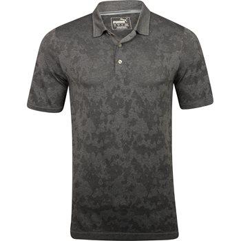 Puma Evoknit Camo Shirt Polo Short Sleeve Apparel