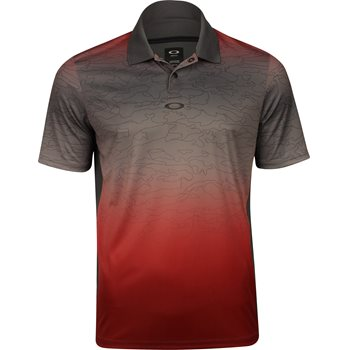 Oakley Sublimated Shadow Camo Shirt Polo Short Sleeve Apparel