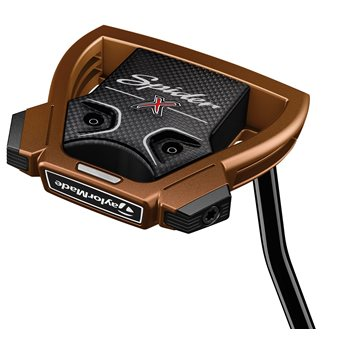 TaylorMade Spider X Copper/White Single Bend Putter Clubs