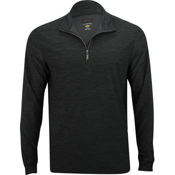 Greg Norman Heathered ¼ Zip Mock Outerwear Apparel