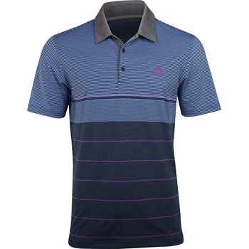 Adidas Ultimate Heather Gradient Stripe Shirt Apparel