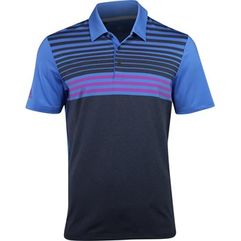 Adidas Ultimate 3-Stripe Heather Gradient Shirt Apparel