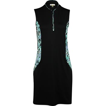 Greg Norman Chrysalis Sleeveless Mandarin Collar Dress Apparel