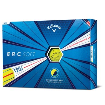 Callaway ERC Soft Yellow Golf Ball Balls
