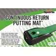 Pride Continuous Return Putting Mat