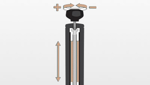 Adjusting Shaft Length