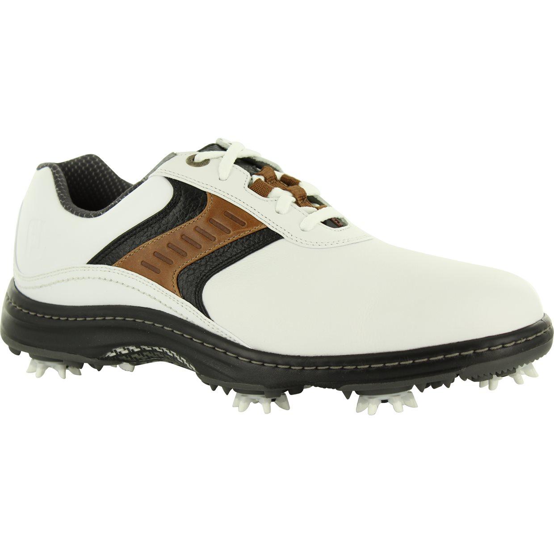 Footjoy Contour Golf Shoes Closeout White Brown
