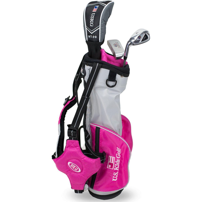 51f1f60050e3 US KIDS Girls UL 39 Pink Club Set Starter Set Junior Golf Club at ...