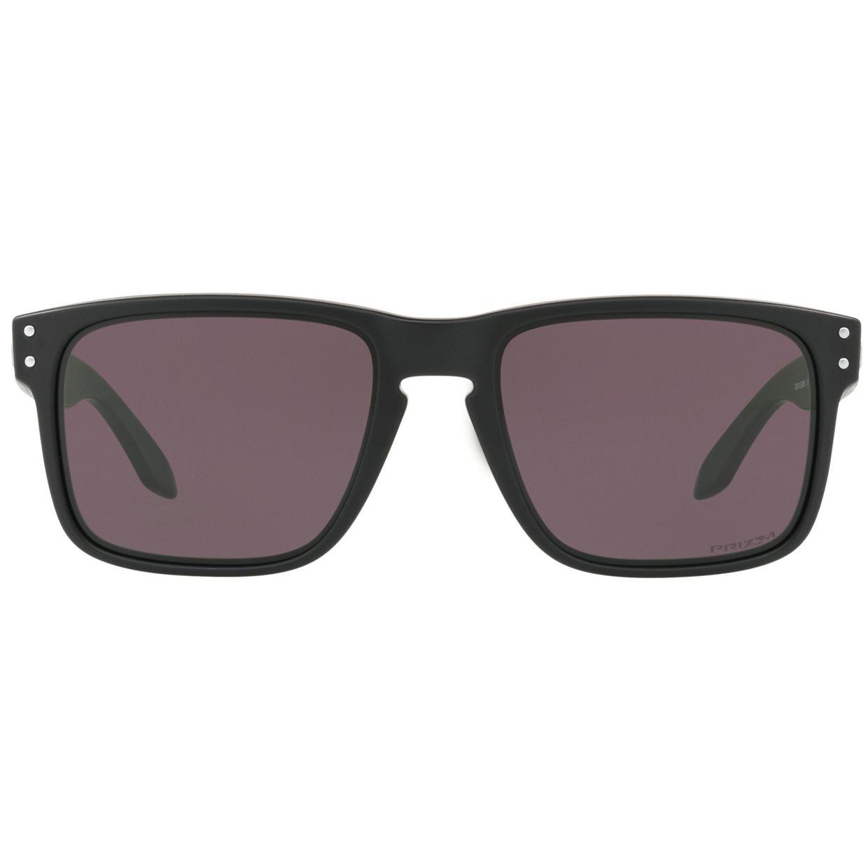 a8bfa64db50 Oakley Holbrook Matte Black   Prizm Grey Lens Sunglasses Golf ...