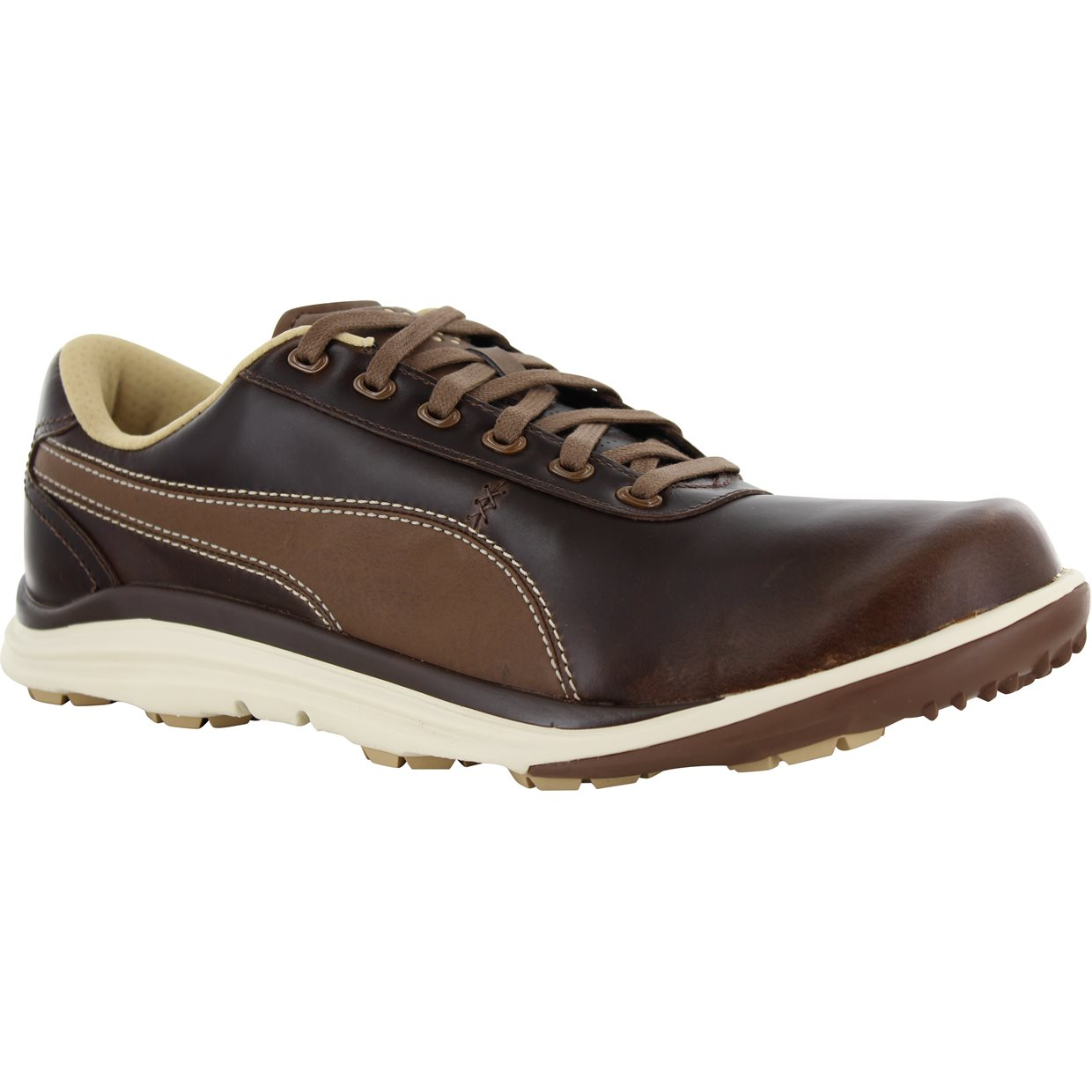 All Brown Golf Shoes
