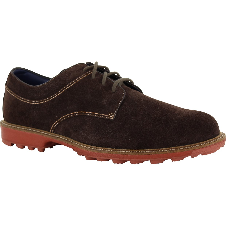 footjoy club casual suede chocolate 10 medium casual shoes