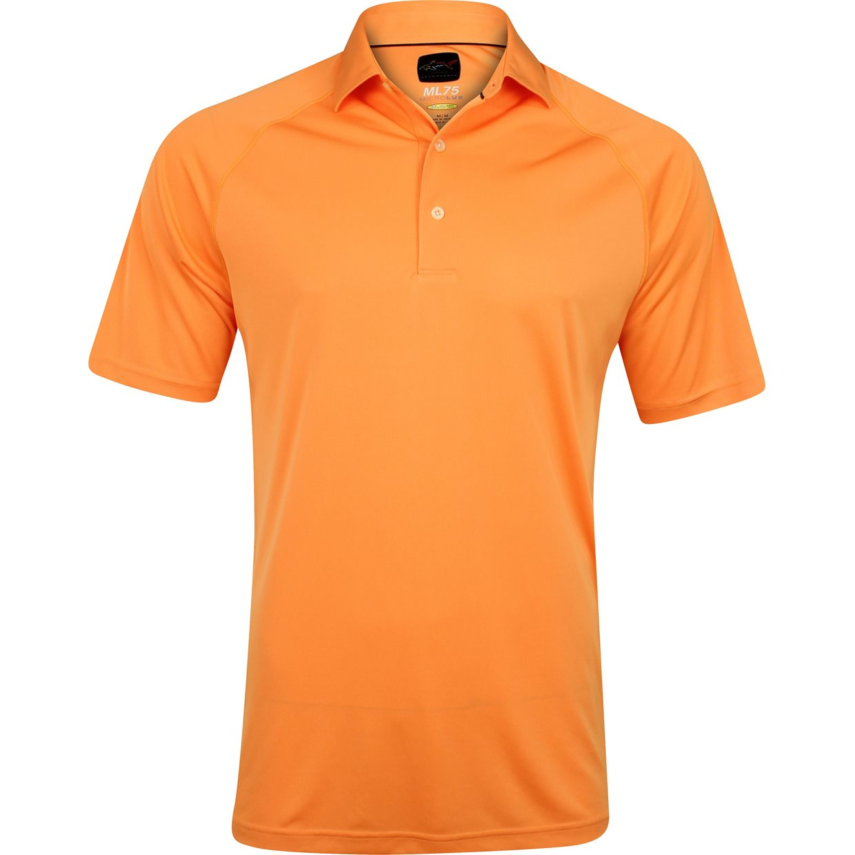Greg norman ml75 micro lux solid shirt apparel at for Greg norman ml75 shirts