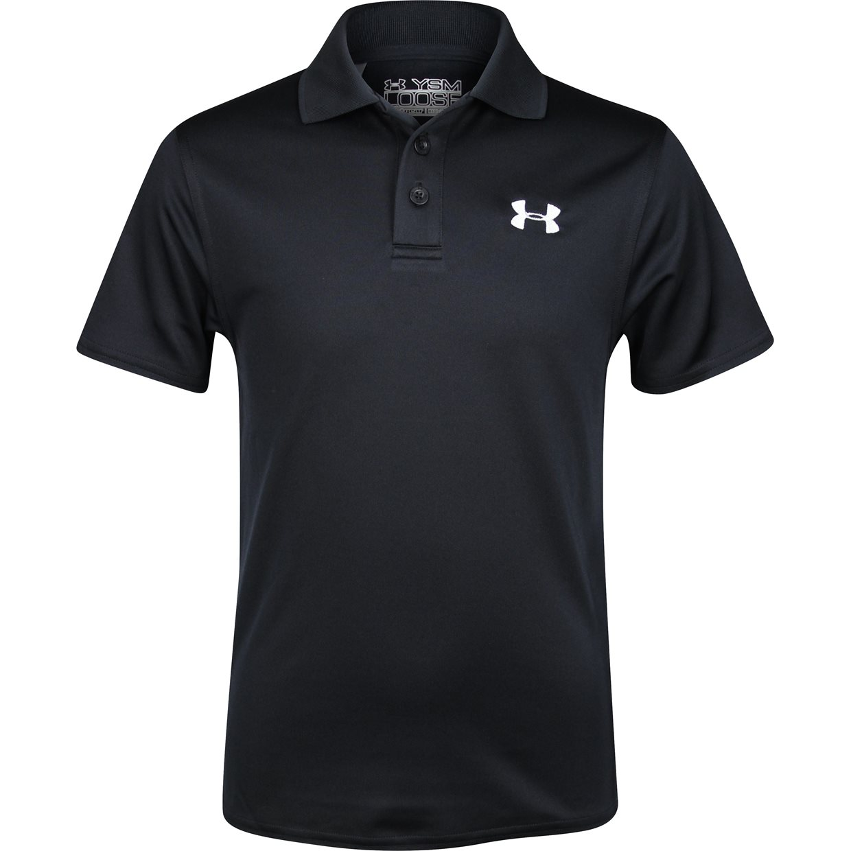 Junior under armour ua youth performance shirt apparel at for Youth performance polo shirts