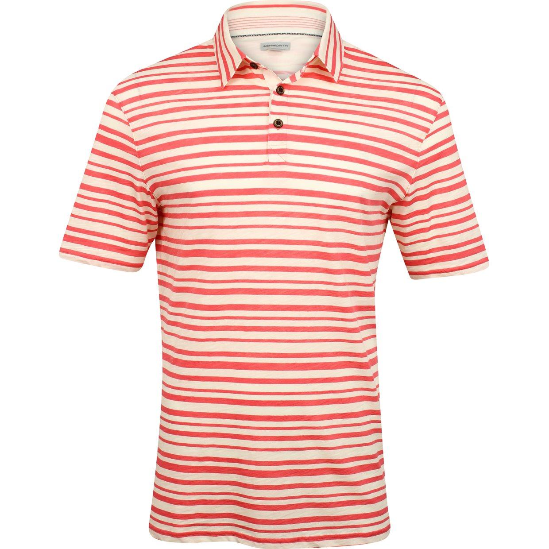 Ashworth printed slub stripe shirt apparel at for What is a slub shirt