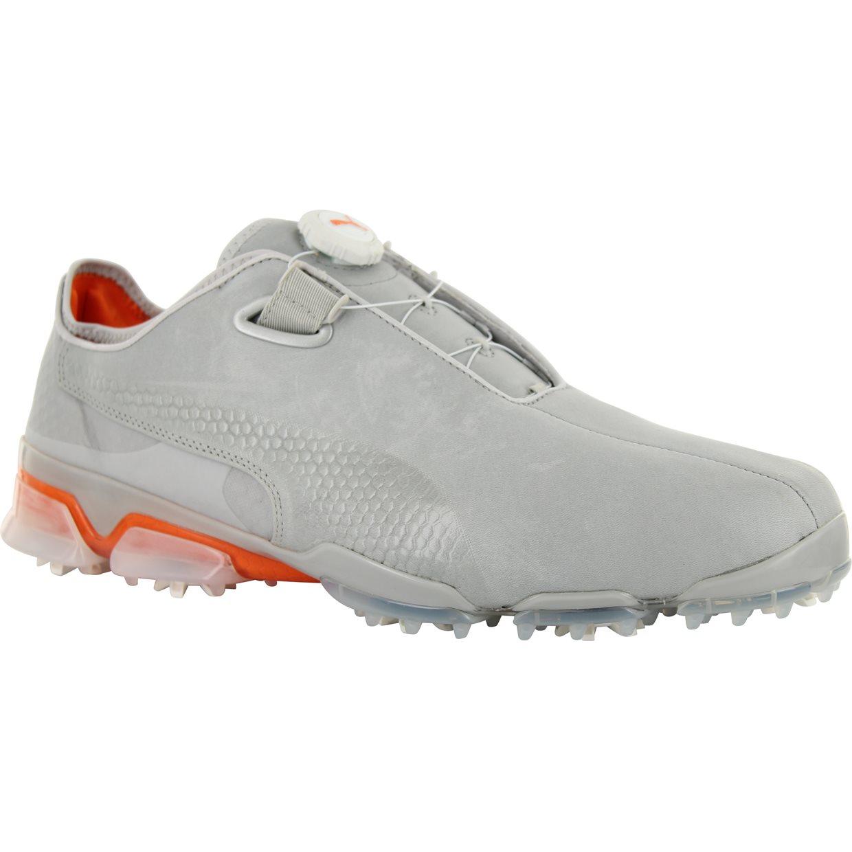 All White Puma Golf Shoes