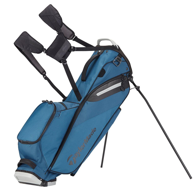 Taylormade Flextech Lite Stand Golf Bag Teal Grey Stand