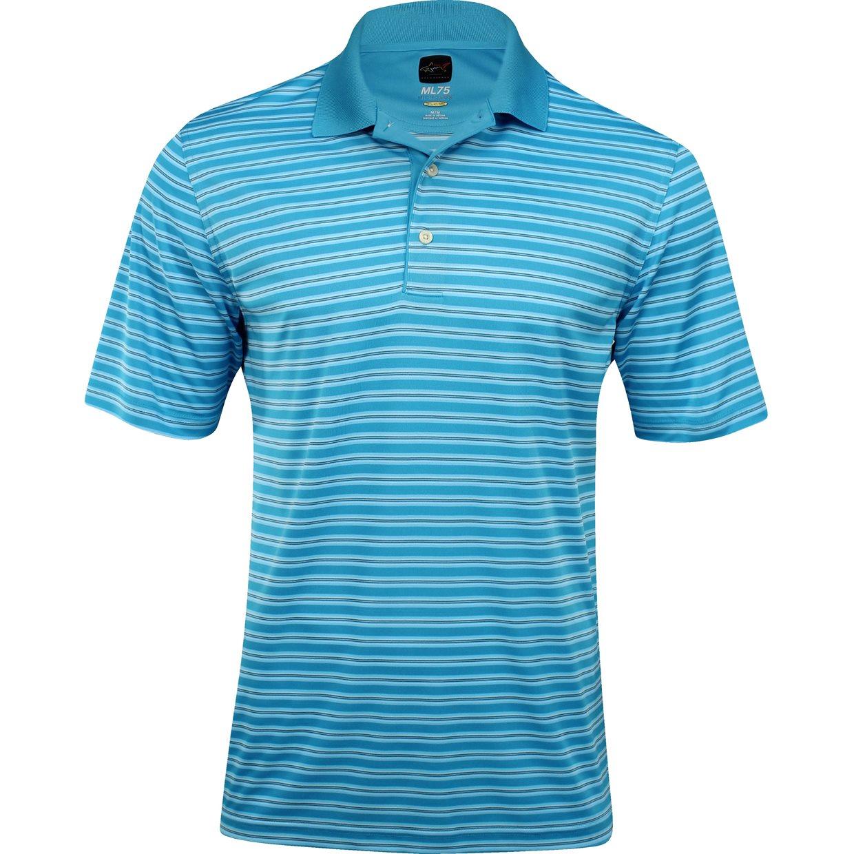 Greg norman protek ml75 microlux stripe shirt apparel xl for Greg norman ml75 shirts