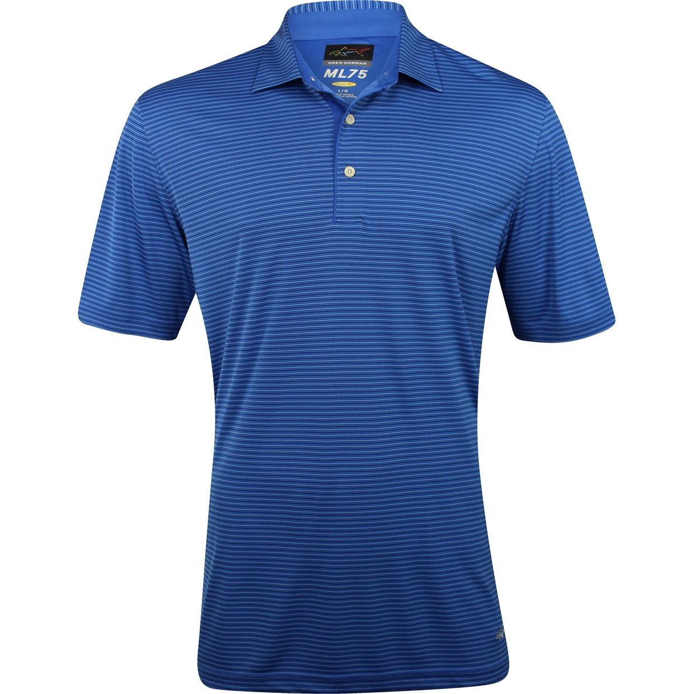 Greg norman ml75 tonal stripe 434 shirt apparel at for Greg norman ml75 shirts