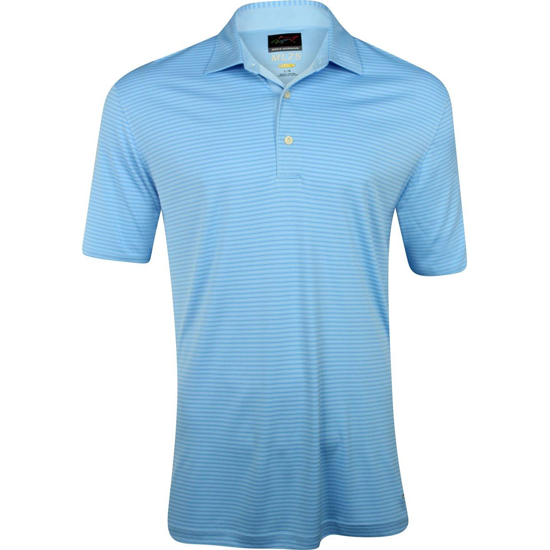 Greg norman ml75 tonal stripe 434 shirt apparel l for Greg norman ml75 shirts