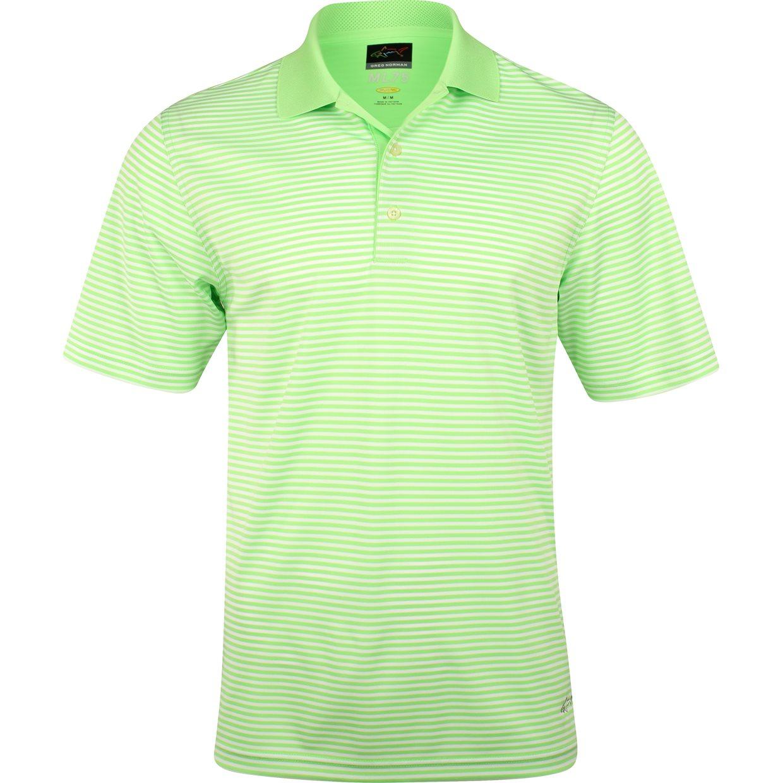 Greg norman ml75 bar stripe 433 shirt apparel xl island for Greg norman ml75 shirts