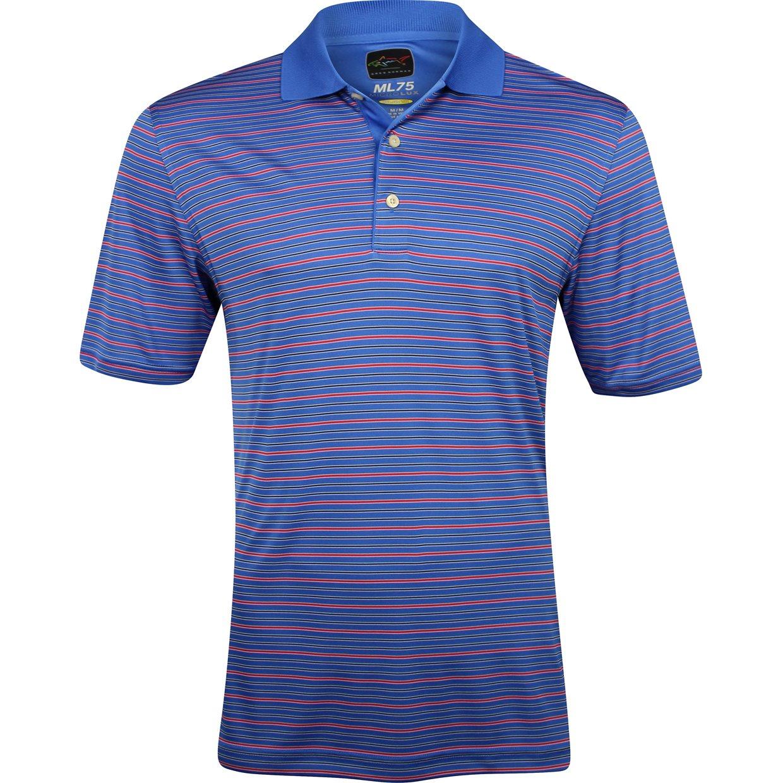 Greg norman protek ml75 microlux stripe 450 shirt apparel for Greg norman ml75 shirts