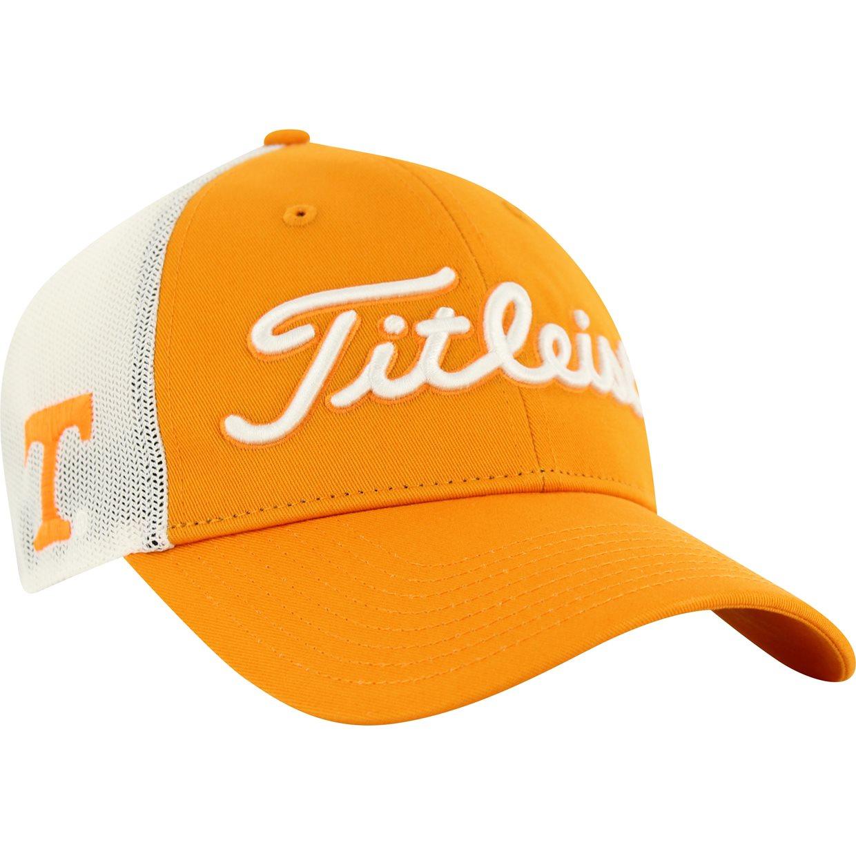 Titleist Collegiate Mesh Adjustable Headwear Apparel at GlobalGolf.com d708bef83e2