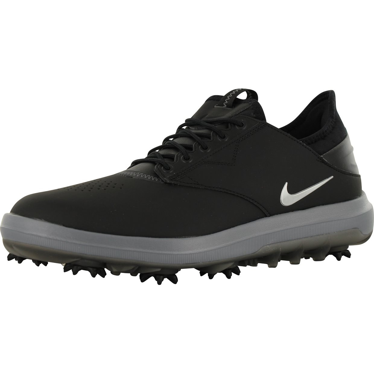 Nike Air Zoom Direct Golf Shoes Black Metallic Silver New Size 10.5 [923965-001]