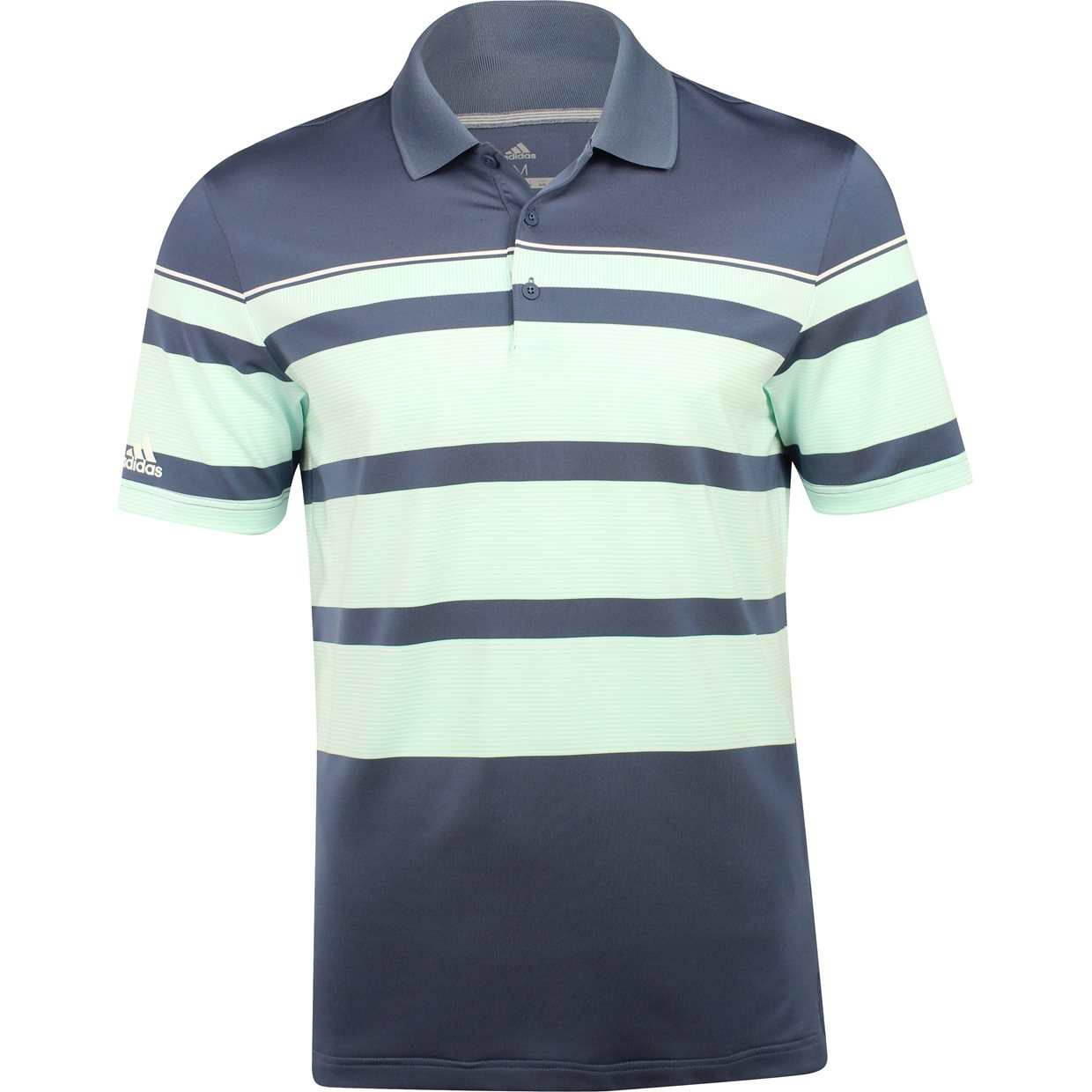 Adidas Ultimate 365 Engineered 3 Stripe Shirt Apparel At Globalgolf