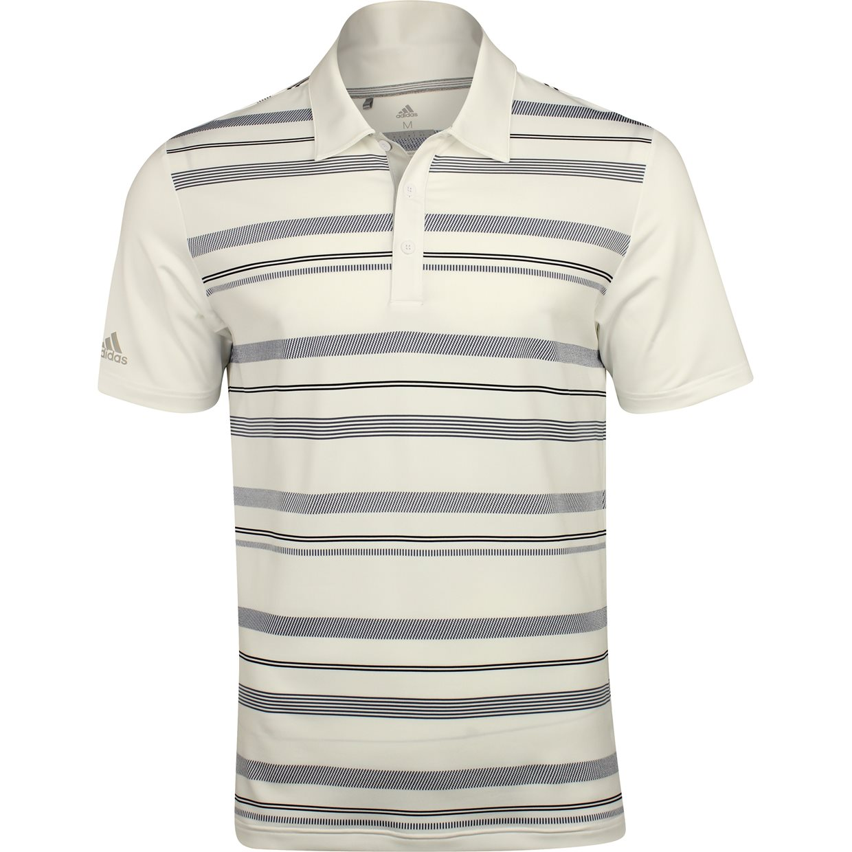 79d2c869 Adidas Ultimate 365 Novelty Stripe Shirt Apparel at GlobalGolf.com