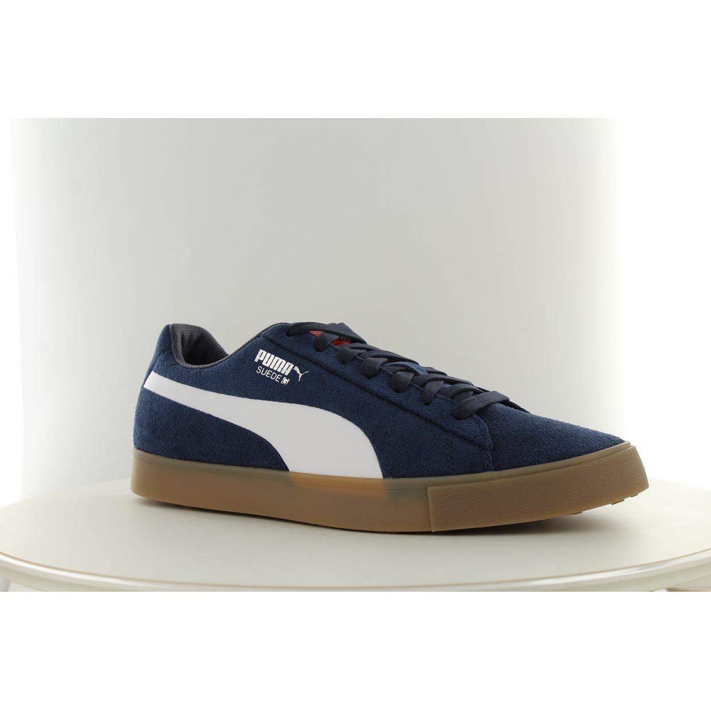 6e3805349900 Puma Malbon Golf Suede G Spikeless Shoes at GlobalGolf.com